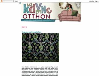 kedvencotthon.blogspot.hu screenshot