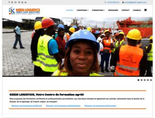keedi-logistics.com screenshot