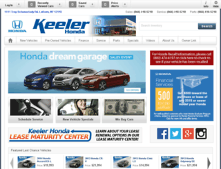 keelerhonda.calls.net screenshot