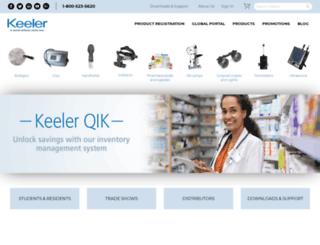 keelerusa.com screenshot