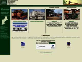 keenanauction.com screenshot