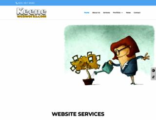 keenewebworks.com screenshot