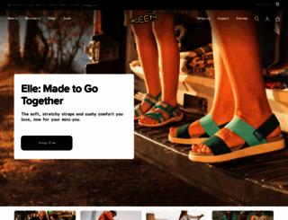 keenfootwear.com.au screenshot