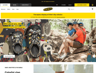 keenfootwear.com screenshot