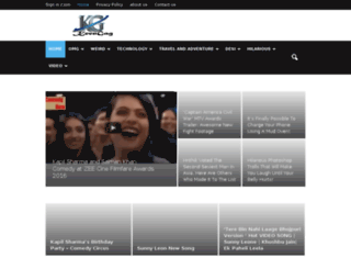 keengag.com screenshot