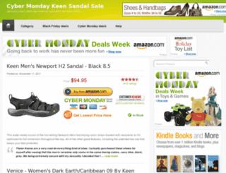 keensandals.getallshoes.com screenshot