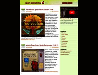 keepdesigning.com screenshot