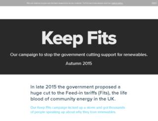 keepfits.org screenshot