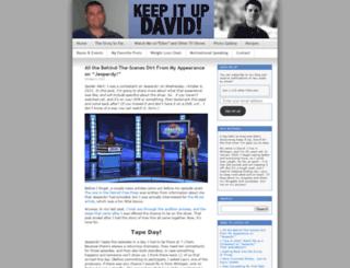 keepitupdavid.wordpress.com screenshot