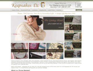 keepsakes-etc.com screenshot