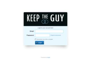 keeptheguy.kajabi.com screenshot