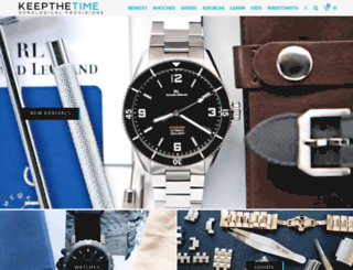 keepthetime.com screenshot