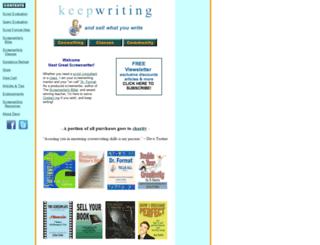 keepwriting.com screenshot