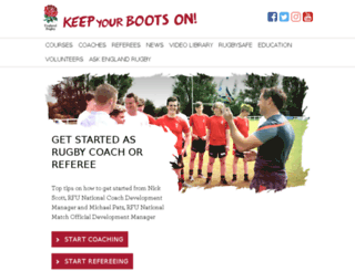 keepyourbootson.com screenshot