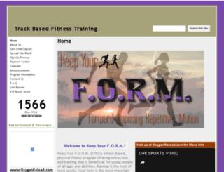 keepyourform.com screenshot