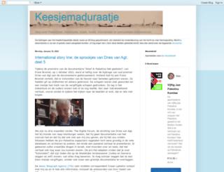 keesjemaduraatje.blogspot.nl screenshot