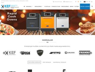 kef.com.tr screenshot