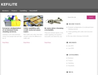 kefilite.com screenshot