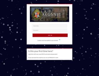 kegsnet.org.uk screenshot