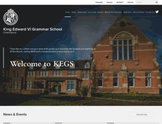 kegswebsite.org.uk screenshot