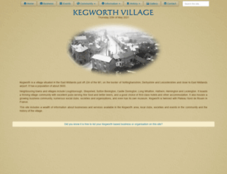 kegworthvillage.com screenshot