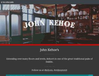 kehoes.pub screenshot