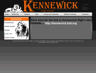 kehs.ksd.org screenshot