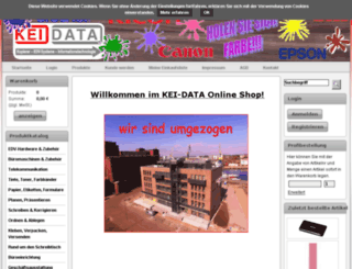 kei-data.bueroshops.de screenshot