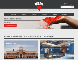 keim.com.pl screenshot
