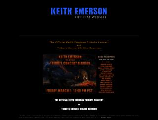 keithemerson.com screenshot