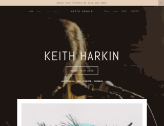 keithharkin.com screenshot