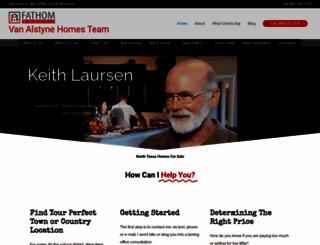 keithlaursen.com screenshot