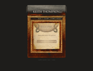 keiththompsonart.com screenshot