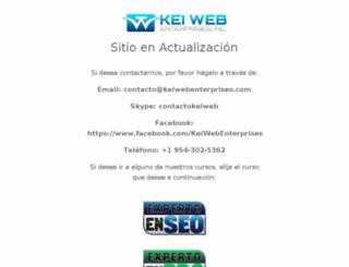 keiwebenterprises.org screenshot