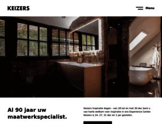 keizerssanitair.nl screenshot