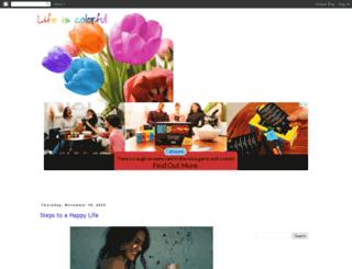 kejal-lifeiscolorful.blogspot.com screenshot