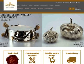 kejriwalgoldsilver.com screenshot