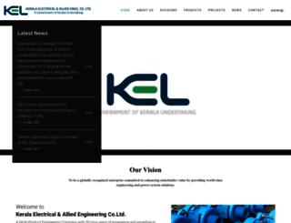 kel.co.in screenshot