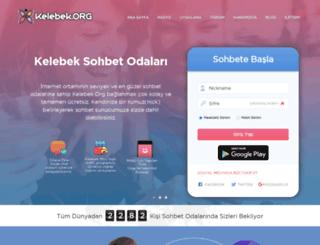 kelebek.org screenshot