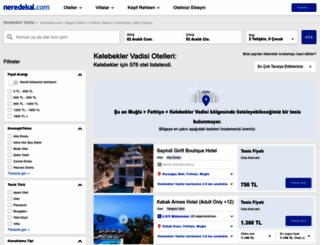 kelebekler-vadisi.neredekal.com screenshot