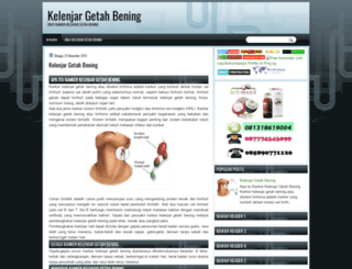 kelenjargetahbening.blogspot.com screenshot