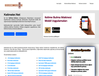 kelimeler.net screenshot