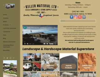 kellermaterial.com screenshot