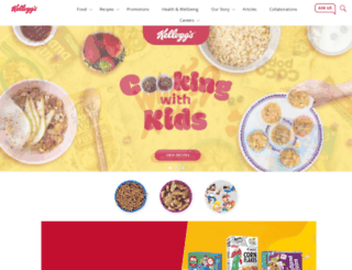 kelloggs.com.au screenshot