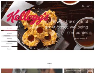 kelloggs.com screenshot