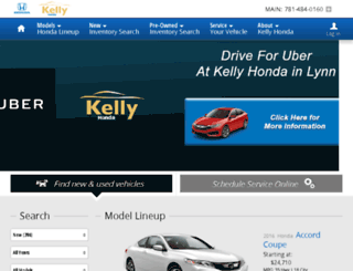 kelly-honda.calls.net screenshot