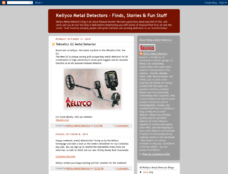 kellyco-metal-detectors.blogspot.com screenshot