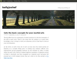 kellyjoshef.blog.com screenshot