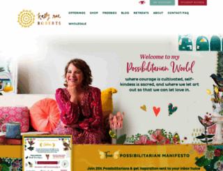 kellyraeroberts.com screenshot