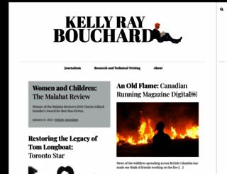 kellyraybouchard.com screenshot